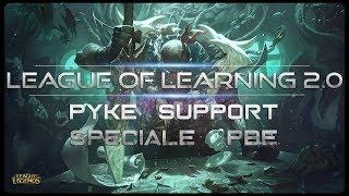 BELLO QUESTO SUPPORT CHE RUBA LE KILL - PYKE SUPPORT PBE FULL GAMEPLAY - League Of Legends