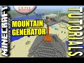 MINECRAFT - PS4 - MOUNTAIN GENERATOR - HOW TO - TUTORIAL  ( PS3 / XBOX / PC  ) WII