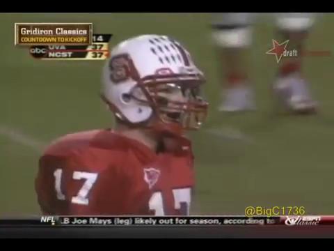 Philip Rivers vs Virginia 2003