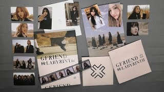 "[开箱] 여자친구 (GFRIEND) 8th Mini Album ""回:LABYRINTH"" - Crossroad…"