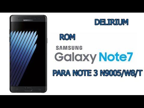 ROM DELIRIUM V2 LITE NOTE 7 PARA NOTE 3 N9005/W8/T/P