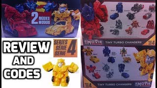 Transformers Tiny Turbo Changers Series 4 with CODES - Bumblebee Movie