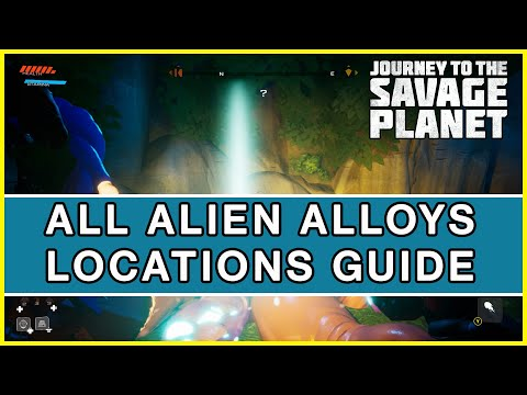 Journey to the Savage Planet - All Alien Alloy Locations