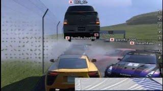 Gran Turismo 5 SPEED HACK ONLINE FLY CAR FUN JAPAN SERVER LEXUS LFA
