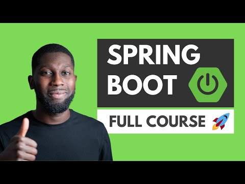 Spring Boot Tutorial | Full Course [2021] [NEW]