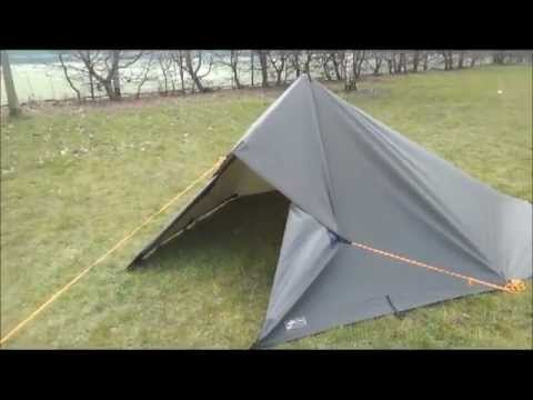 5 tarp shelter setups with a 3x3 tarp - YouTube