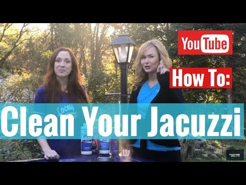 How to Clean a Jacuzzi Tub