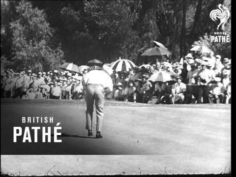 Jack Nicklaus Wins Pga Title (1963)