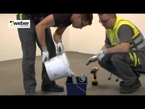 Een epoxy vloercoating aanbrengen - Weber