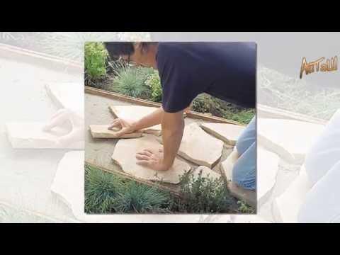 видео: Садовая дорожка своими руками