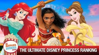 The Ultimate Disney Princess Ranking!