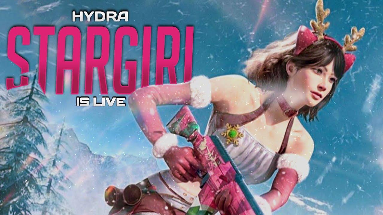 PUBG MOBILE LIVE || HydraSTARGIRL || GRIND IS ON 💫❤️ || VOTE FOR DYNAMO ❤️