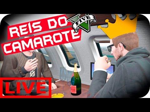 LIVE GTA V REI DO CAMAROTE UPANDO E SORTEANDO AO VIVO