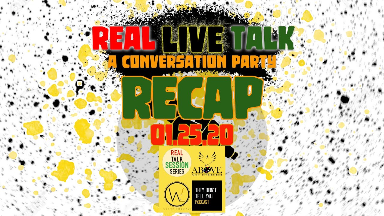 Real Live Talk: A Conversation Party