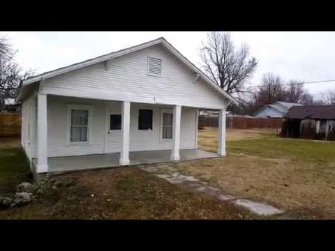 Mickey Mantle's childhood home in Commerce, Oklahoma