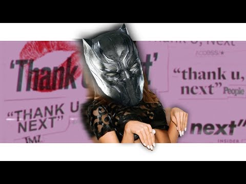 "black-panther-sings-""thank-u,-next""-by-ariana-grande!-