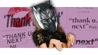 Black Panther Sings &quotthank u, next&quot by Ariana Grande! Avengers Parody