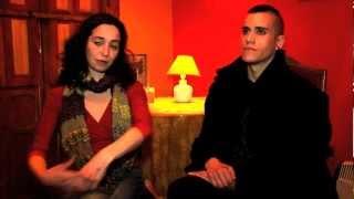 XIBALBÁ. Entrevista a Natalia Cuéllar y Aníbal Sandoval.mov (Agosto 2012)
