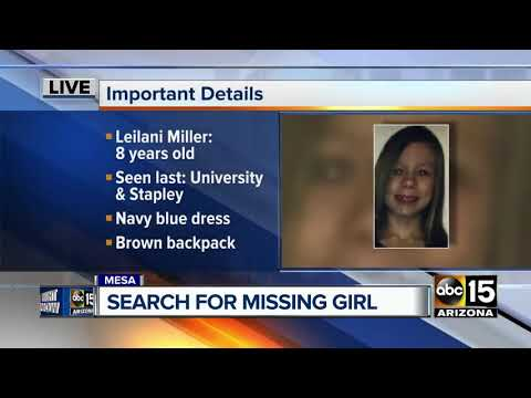 Eight-year-old Mesa girl reported missing