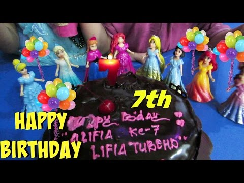 Giveaway - Happy Birthday Alifia 7th ♡ Selamat Ulang Tahun Alifia ke 7 Tahun @LifiaTubeHD