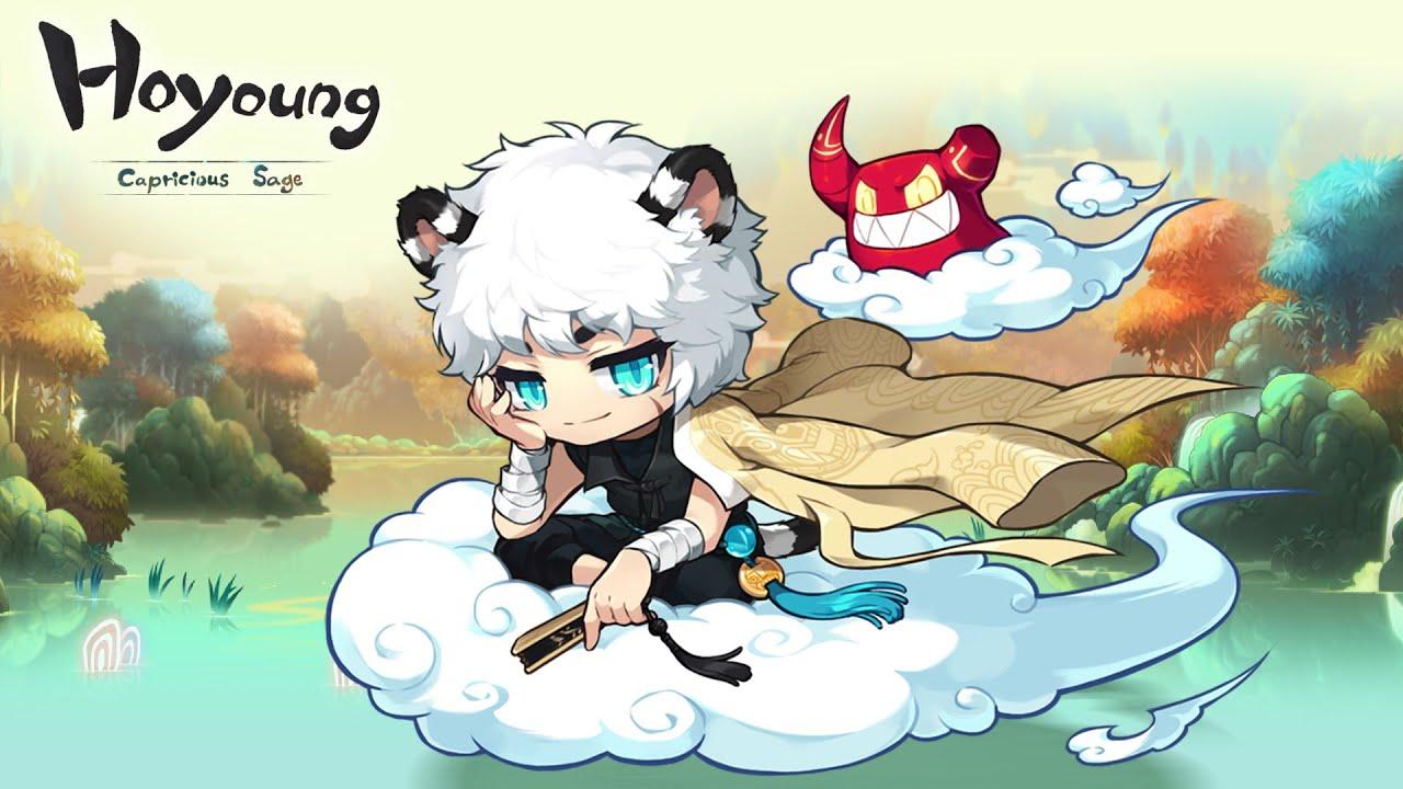 Maple Story SEA   Ho Young : ความง่วงจาก Class 2th ตกเป็นรองด้วย Class 3th... ( Day 13 ) ? !!