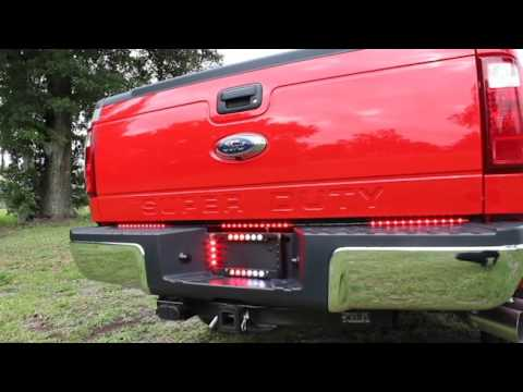 hg2 emergency lighting crossfire and back tailgate youtube
