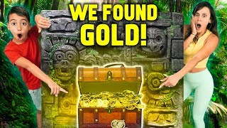 FIRST to FIND The TREASURE Wins GOLD!! *Challenge* | The Royalty Family