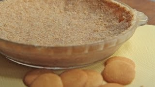 Easy Cookie Pie Crust Recipe - Buh-bye Premade Graham Cracker Pie Crust!