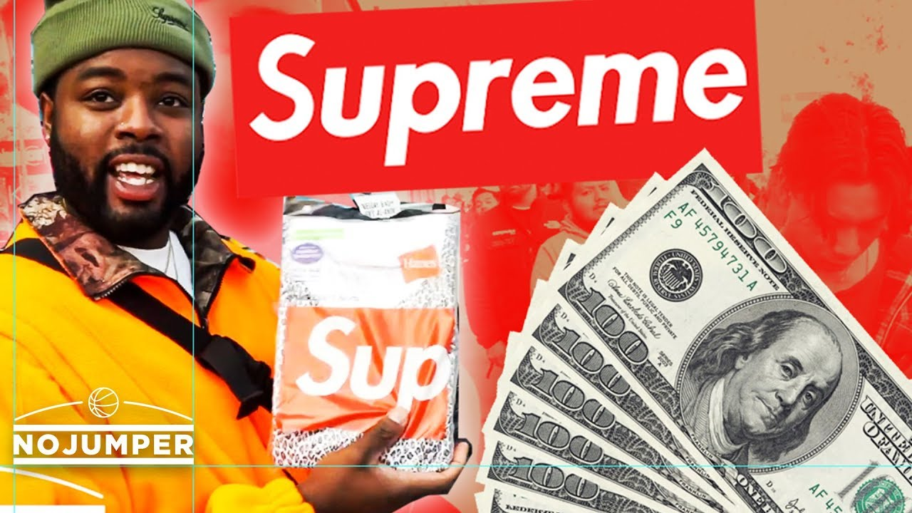 Meet the Hypebeasts who buy Supreme and Re-sell it 10 Minutes Later