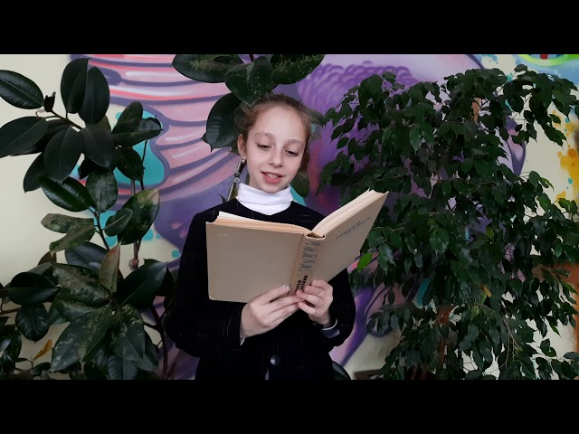 Изображение предпросмотра прочтения – ЛуизаЛазарева читает произведение «Восход солнца» С.А.Есенина