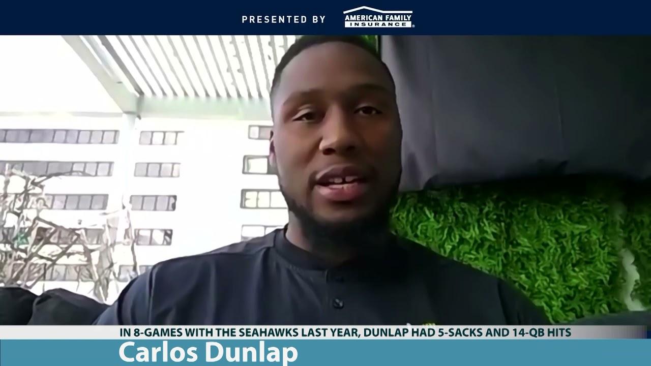 Carlos Dunlap on Seahawks Potential 2021-04-07