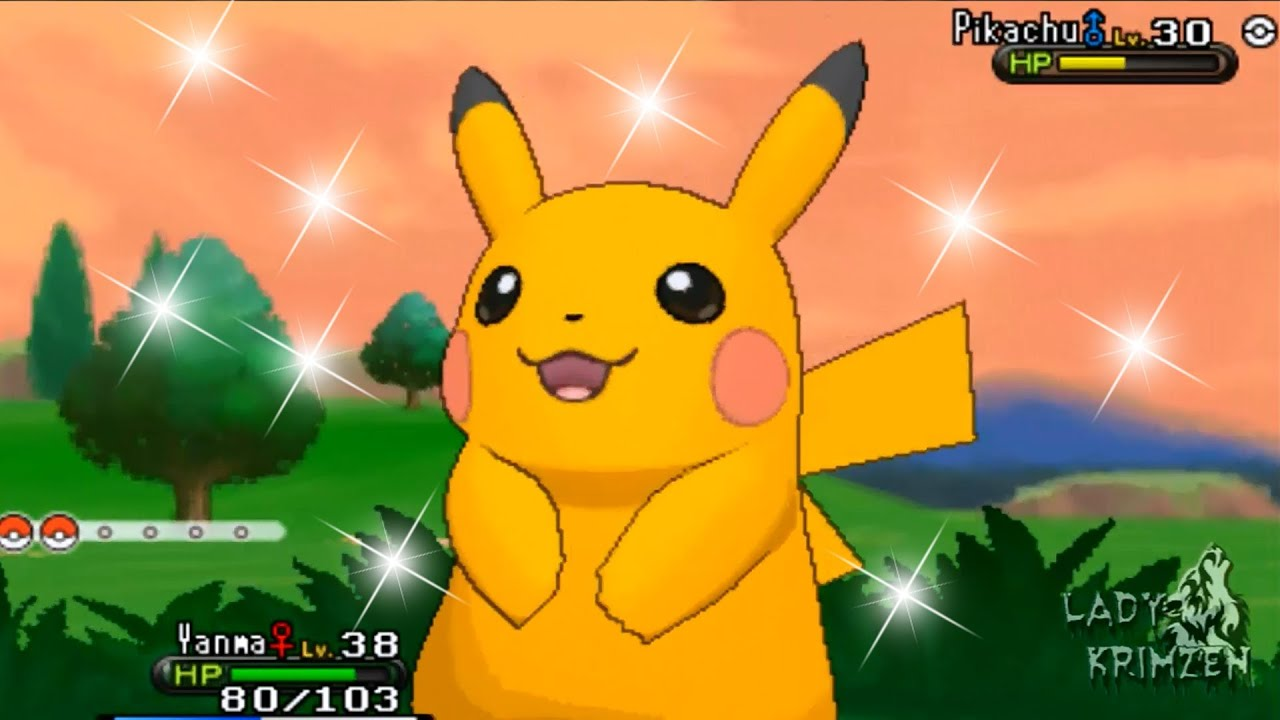 Pokemon X and Y - Catching Shiny Pikachu! [ CRITICAL CATCH ...
