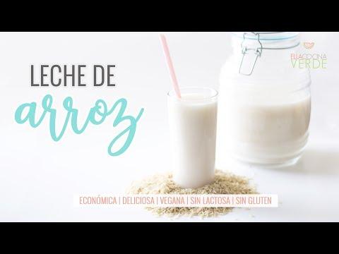 Cómo hacer Leche de Arroz casera | Leches vegetales | Receta Vegana