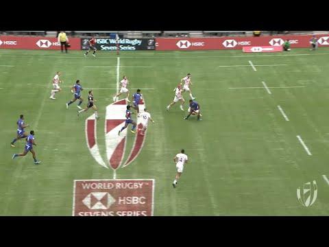 Relive: Samoa score beautiful try