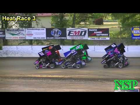 July 13, 2017 Clay Cup Nationals 600 Restricted Mini Sprints Heat Races 1, 2, 3 & 4 Deming Speedway