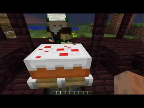 Minecraft проделки херобрина часть 1