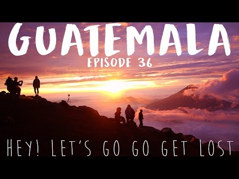 Travel Guatemala | SOLO FEMALE TRAVELER | Ep. 36 | Volcano Acatenango Hike