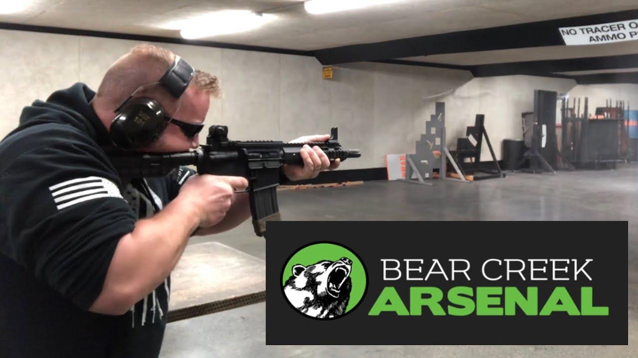 Awesome Budget AR-15: Bear Creek Arsenal 7.5 Inch Pistol - YouTube