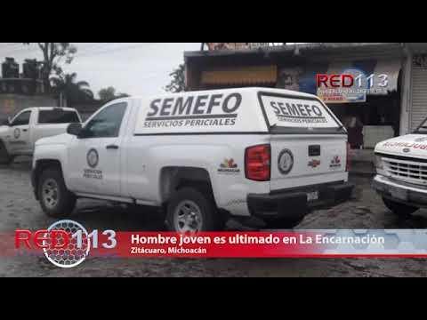 VIDEO Asesinan a joven en La Encarnación, Zitácuaro