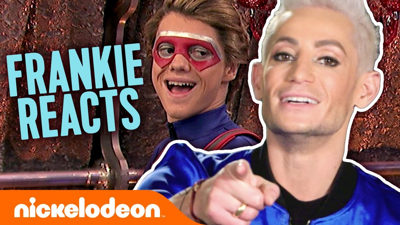 Download Frankie Grande Reacts to the Best Frankini Moments! 😆 Henry Danger   Nick