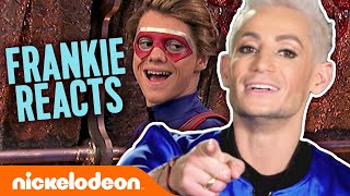 Frankie Grande Reacts to the Best Frankini Moments! 😆 Henry Danger | Nick