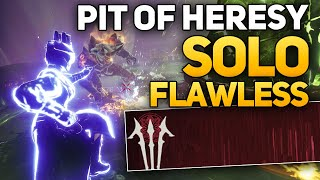 How to Solo Flawless the Pit of Heresy Dungeon - Tips for All Classes (Destiny 2 Shadowkeep)
