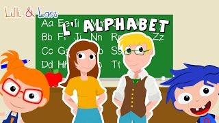 l'alphabet francais song - comptines pour enfan - abc song français