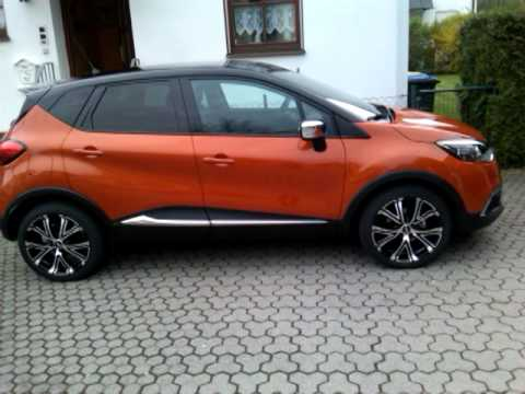 renault captur mit 18 zoll felgen youtube. Black Bedroom Furniture Sets. Home Design Ideas