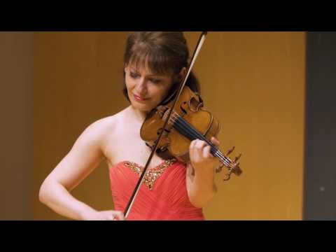 Irina Muresanu performs Ciaccona in D minor by J. S. Bach