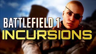 Battlefield 1 New Incursions Mode 4K PS4 PRO Multiplayer Gameplay