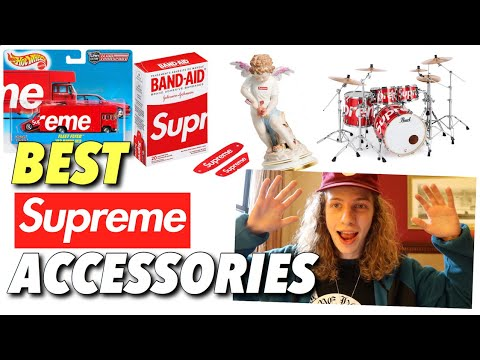 Supreme S/S '19 - Best Accessories Ever?