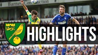HIGHLIGHTS: Ipswich 1-1 Norwich City