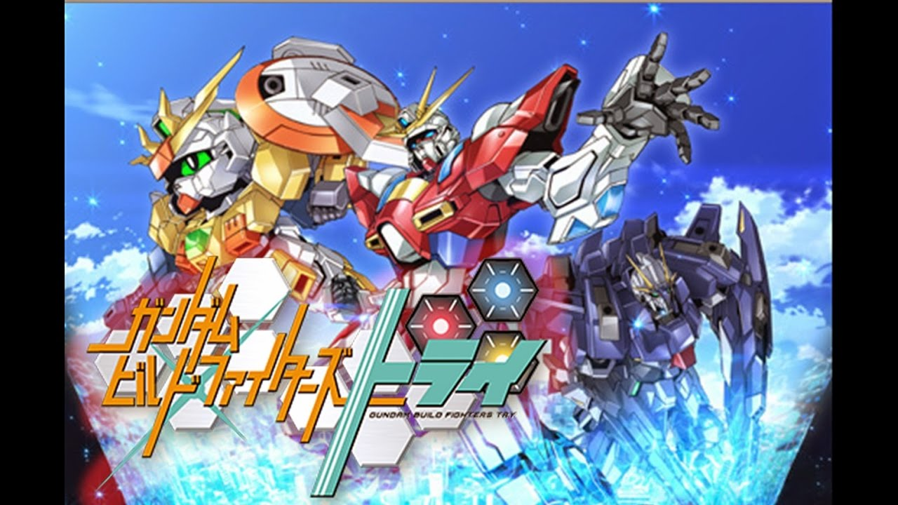 Roots Of Happiness Grutmix Gundam Build Fighters Try Youtube