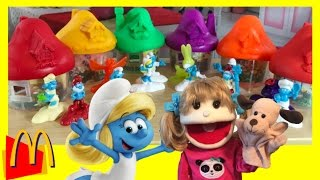 Smurfs The Lost Village Toys McDonalds Happy Meal